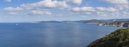 Paysage de falaises Photographie stock