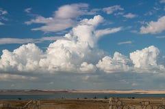 Paysage de Fayoum Photo libre de droits