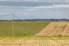 Paysage de ferme du Sussex images stock