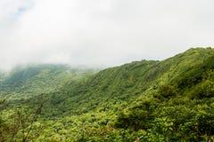 Paysage de forêt tropicale en Monteverde Costa Rica Photographie stock libre de droits
