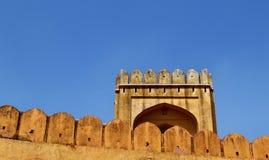 Paysage de fort d'Amer, ville d'Amer, Inde de Jaipur Ràjasthàn de périphérie Photos stock