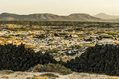 Paysage de Fuerteventura Images libres de droits