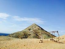 Paysage de Gallinas de Punta Image stock