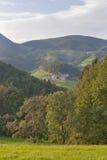 Paysage de gamme de montagne de la Slovénie images stock