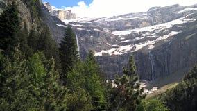 Paysage de Gavarnie dans les Pyrénées photo libre de droits