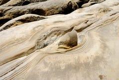Paysage de Geo-parc de Taïwan Yehliu Photographie stock libre de droits