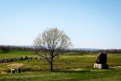 Paysage de Gettysburg Image libre de droits