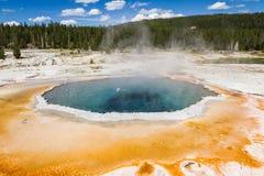 Paysage de geyser Photographie stock libre de droits
