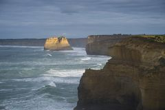 Paysage de grande route d'océan en Victoria Australia Photos libres de droits