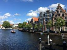 Paysage de Haarlem aux Pays-Bas photos libres de droits