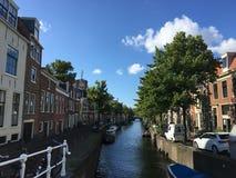 Paysage de Haarlem aux Pays-Bas image stock