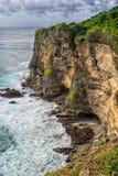 Paysage de haute falaise sur Sunny Day Image stock