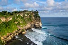 Paysage de haute falaise sur Sunny Day Photographie stock libre de droits