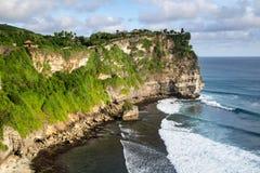 Paysage de haute falaise sur Sunny Day Image libre de droits