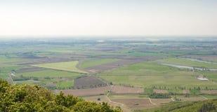 Paysage de Hongrie, Tokaj Photos stock