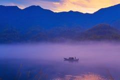 Paysage de Hunan Chenzhou Xiaodongjiang Photographie stock