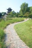 Paysage de jardin Photos libres de droits