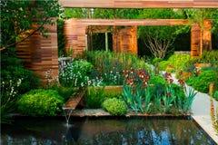Paysage de jardin Photo libre de droits