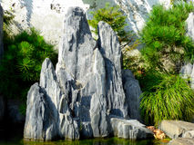 Paysage de jardin de rocaille image stock