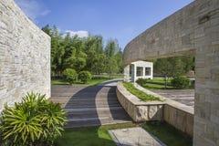 Paysage de jardin de ville Photo libre de droits