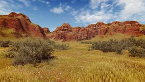 Paysage de jour de canyon Photos stock