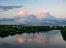 Paysage de Kaunas Images stock