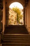 Paysage de Kiev Photographie stock libre de droits