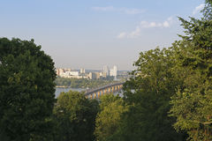 Paysage de Kiev Image stock