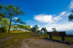 Paysage de kradueng de Phu Photographie stock libre de droits