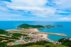 Paysage de l'île de mstsu Photographie stock
