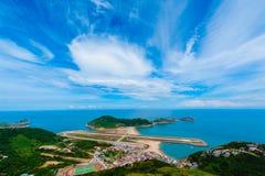 Paysage de l'île de mstsu Photographie stock libre de droits