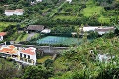 Paysage de l'Agua De Pau Image stock