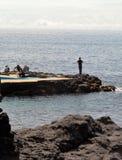 Paysage de l'Agua De Pau Photographie stock libre de droits