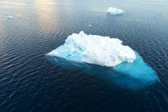 Paysage de l'Antarctique Photos stock