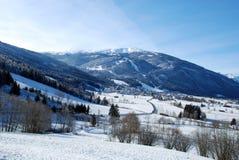 Paysage de l'Autriche Photographie stock libre de droits