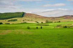 Paysage de l'Ecosse en Angleterre Photos libres de droits