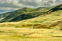 Paysage de l'Ecosse en Angleterre Photo stock