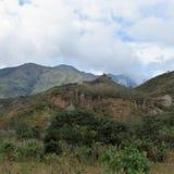 Paysage de l'Equateur, montagnes Photos stock