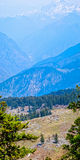 Paysage de l'Himalaya Photos stock