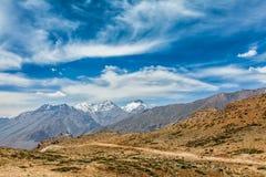 Paysage de l'Himalaya Photographie stock libre de droits