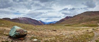 Paysage de l'Himalaya Photos stock