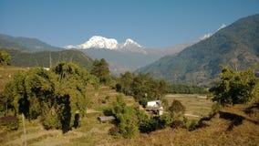 Paysage de l'Himalaya Photo stock
