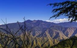 Paysage de l'Himalaya, Mussoorie Photos stock