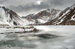 Paysage de l'hiver. Images libres de droits