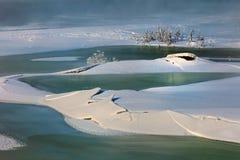 Paysage de l'hiver Photo stock