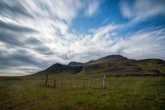 Paysage de l'Islande Photographie stock libre de droits