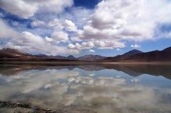 Paysage de la Bolivie Photographie stock libre de droits