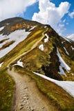 Paysage de la crête de montagne de Tatra Photo stock