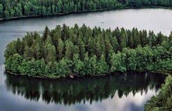 Paysage de la Finlande Photographie stock