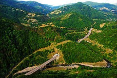 Paysage de la Géorgie Image libre de droits